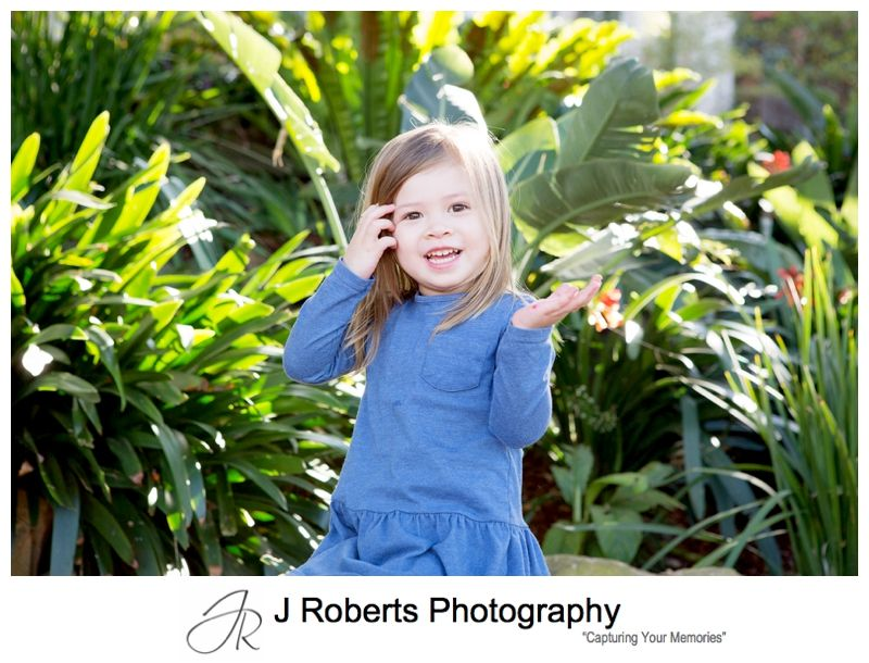 Extended Family Portrait Photography on Location in Sydney at Wendy Whiteley Secret Garden Lavender Bay